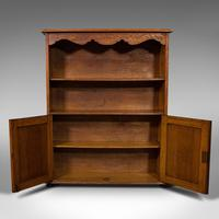Antique Headmaster's Office Bookcase, English, Oak, Cabinet, Edwardian c.1910 (8 of 12)