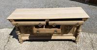 Wonderful Art Nouveau Bleached Oak Sideboard (15 of 26)