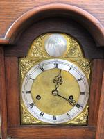 Early Antique Weight Driven Granddaughter Clock (6 of 13)