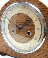Art Deco Hat Shaped Mantel Clock – Striking 8-day Arched Top Mantle Clock (5 of 10)