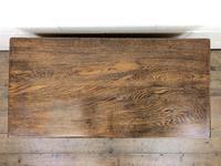 Vintage Carved Oak Blanket Box (3 of 10)