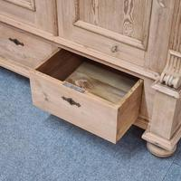 Small Old Pine Wardrobe Dismantles (5 of 5)