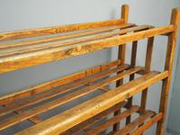 Victorian Industrial Pine Deed Rack / Wool Rack (10 of 10)