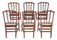 Set of 6 19th Century Mahogany Dining Chairs (2 of 7)