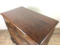 Antique Georgian Oak Chest of Drawers (8 of 10)