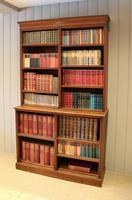 Solid Oak Open Cabinet Bookcase (3 of 11)