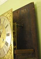 Fine Month Marquetry Longcase Grandfather Clock - Bird, London (11 of 16)