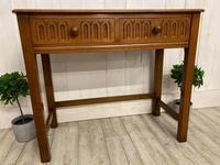 Oak Desk Side Table (3 of 4)