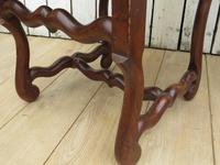 Set of Six French Oak Dining Chairs (8 of 9)