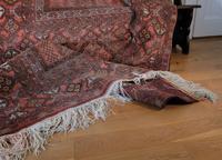 Large Mid 20th Century Afghan Ensi Rug (9 of 13)