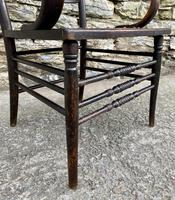 Antique American Armchair with Steamed Bentwood Arms (6 of 14)