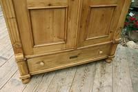 Fabulous Old Pine 'Knock Down' Glazed Display Cabinet (6 of 10)