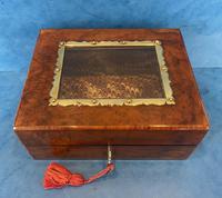 Victorian Walnut Display Box (2 of 11)