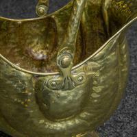 Late Victorian Brass Coal Helmet (5 of 14)