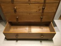 Large Early Victorian Chest of Five Drawers (5 of 8)