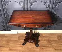 Regency Mahogany Side Table c1820 (4 of 13)