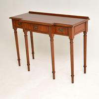 Antique Georgian Style  Mahogany Console Table (9 of 10)