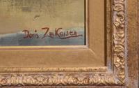 "Oil Painting Doris Zinkeisen ""Dick Turpin"" (3 of 5)"