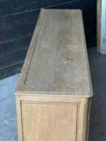 Large French Bleached Oak Enfilade or Sideboard (9 of 19)