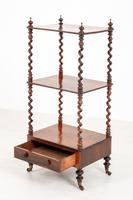 Pretty Victorian Rosewood Whatnot (3 of 7)