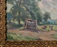 William Francis Burchell Exhibited Impressionist Oil Painting (4 of 12)