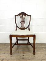 Set of Four 20th Century Mahogany Dining Chairs (3 of 10)