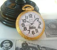 Vintage Pocket Watch 1970s Railroad 12ct Gold Plated West Germany Nos (2 of 11)