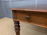 Victorian Period Mahogany Partners Writing Table (5 of 16)