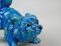 Antique Chinese Blue Glaze Kylin Fo Dog (5 of 7)