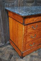 Figured French Commode/ Chest of Drawers (5 of 7)