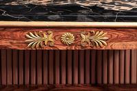 Regency Period Rosewood Gilt Side Cabinet (6 of 6)