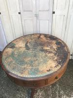 Superb and rare regency country house gentleman's drum table washstand (21 of 26)