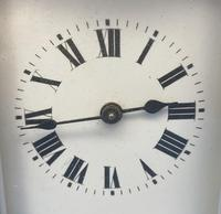 Early Gilt Brass 8 Day Carriage Clock (4 of 13)