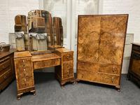 Stylish Art Deco Burr Walnut Dressing Table (20 of 20)