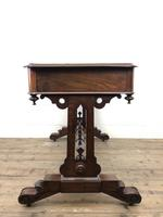 Antique William IV Mahogany Side Table (15 of 16)