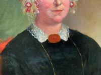 Fine Large Period 19th Century half-length Oil Portrait Painting of a Victorian Lady (8 of 12)