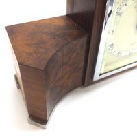 Perfect Burr Walnut Vintage Mantel Clock Art Deco Mantle Clock by Elliott of London (6 of 10)