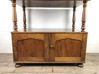 19th Century Mahogany Buffet with Cupboard Base (5 of 18)