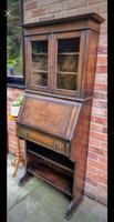 Solid Oak Antique Arts & Crafts Bureau Victorian Late 19th Century (3 of 7)