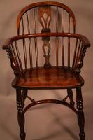 Ash & Elm Windsor Chair Stamped F Walker Rockley (8 of 10)