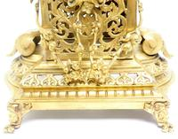 Monumental French Ormolu Mantel Clock Huge Classic 8 Day Striking Mantle Clock (14 of 14)