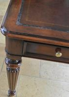 Elegant Gillows Style Mahogany Writing Table Desk (5 of 12)