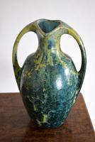 Large Art Nouveau Pierrefonds Crystalline Statement Vase (3 of 11)