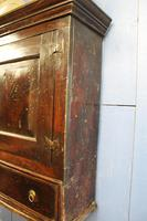 Late 17thC Oak Hanging Wall Cupboard. Mural or Spice Cabinet (17 of 17)