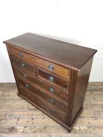 Large Late Victorian Mahogany Chest of Drawers (4 of 11)