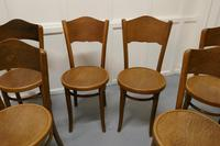 Harlequin Set of 8 French Bistro or Cafe Bentwood Chairs (7 of 7)
