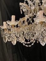 10 Light Italian Marie Theresa Antique Chandelier (14 of 14)