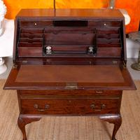Edwardian Mahogany Bureau Writing Desk (2 of 9)