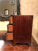 Miniature / Apprentice Mahogany Chest of Drawers (2 of 8)