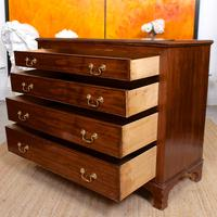 Chest of Drawers Victorian Mahogany 19th Century Straightedge (6 of 9)